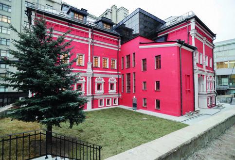 Палаты Троекурова после последней реставрации