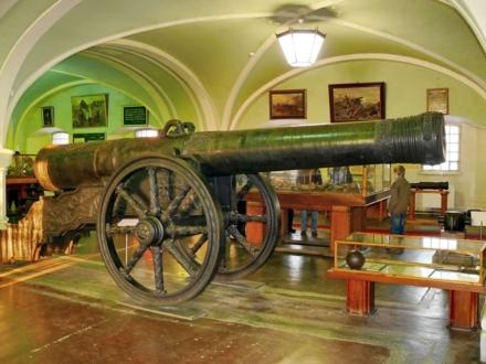 Исторические образцы артиллерийского оружия
