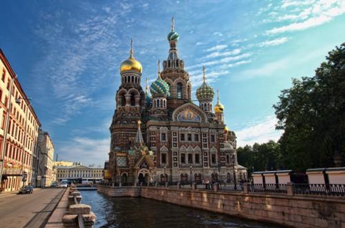 Храм Воскресения Христова (Спас на Крови), возведённый на месте гибели императора Александра II