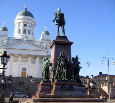 Памятник императору Александру II в Хельсинки
