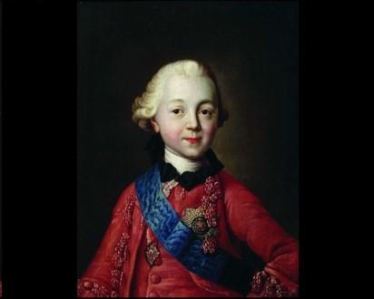 Павел I в детстве