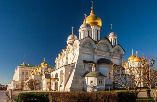 Фасад Архангельского собора со стороны алтаря