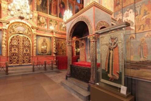 Усыпальница Архангельского собора
