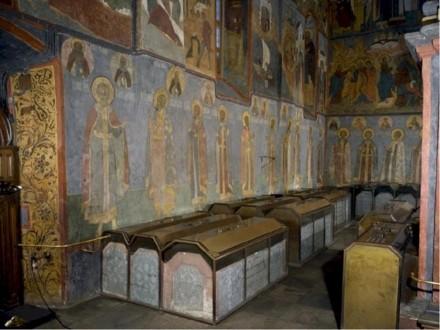 Великокняжеские погребения в Архангельском соборе