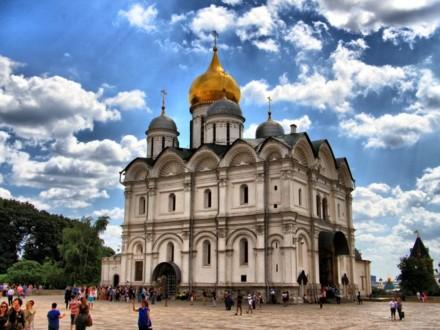 Современный вид Архангельского собора