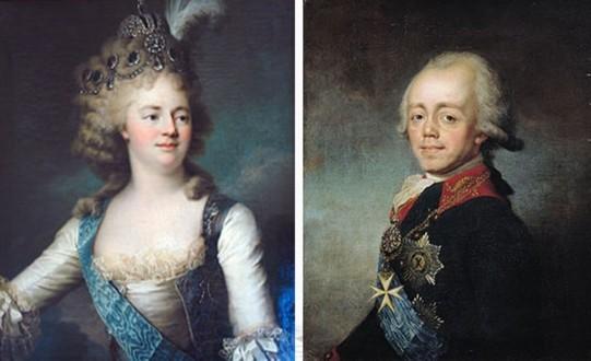 Мария Фёдоровна и Павел I