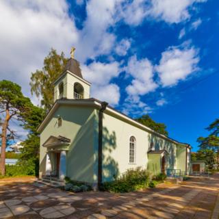 Русское Никольское кладбище в столице Финляндии