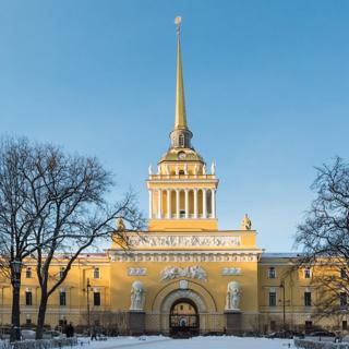Главное Адмиралтейство - символ современного Санкт-Петербурга