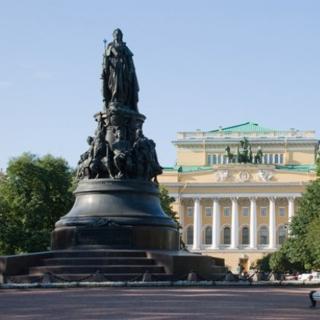 Площадь Островского - детище Карла Росси в Санкт-Петербурге