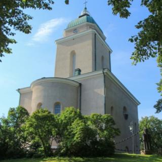 Церковь-маяк в Финляндии