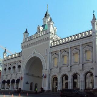 Третьяковский проезд - самое фешенебельное место дореволюционной Москвы