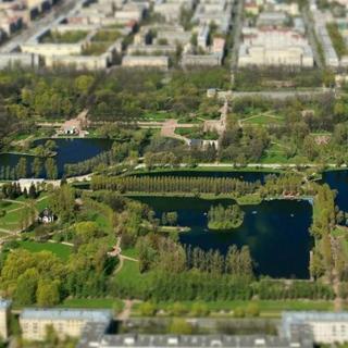 Московский парк Победы в Питере