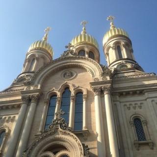 Русское православное кладбище в Висбадене