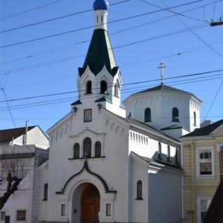Церковь Казанской Божьей Матери в Сан-Франциско