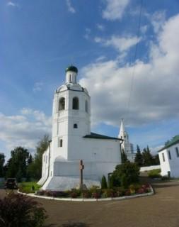 Колокольня Иоанно-Предтеченского мужского монастыря в Казани