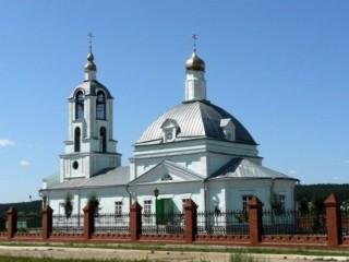 Церковь Троицы Живоначальной в Большой Шильне