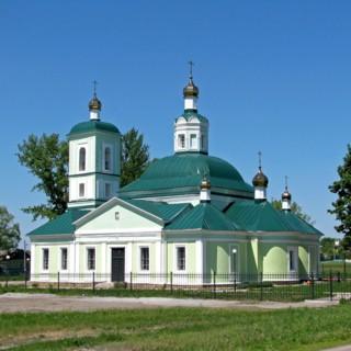 Храм Троицы Живоначальной в Беломестном