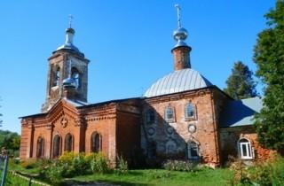 Церковь Георгия Победоносца в Дьяково