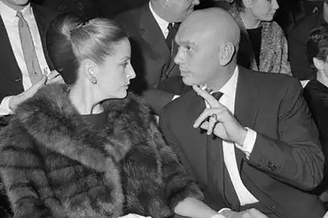 Юл Бриннер и его вторая супруга Дорис Клейнер