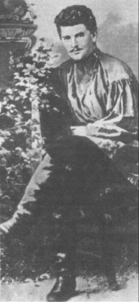 Александр Николаевич Лодыгин в молодости