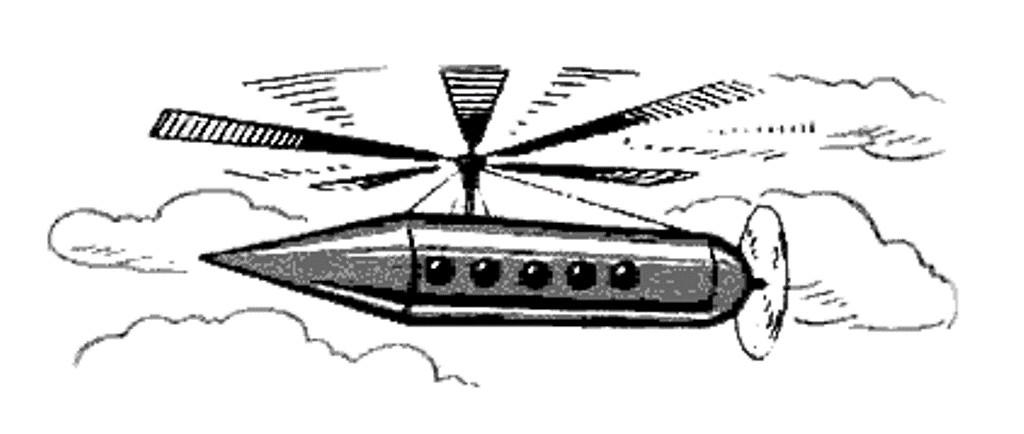Так в теории мог летать электролет Лодыгина