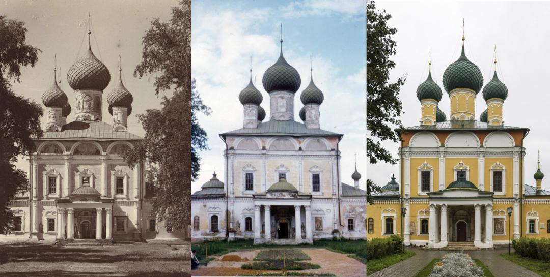 Сравнение дореволюционной, советской и современной эпох истории храма