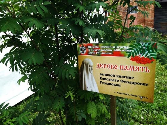 Дерево памяти Елизаветы Федоровны