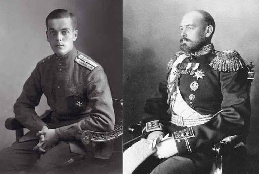 Князь Владимир Палей и Великий Княь Сергей Михайлович