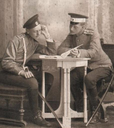 Князья Императорской Крови Константин и Игорь Константиновичи