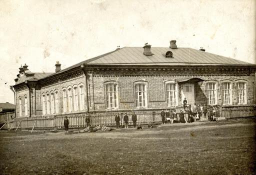 Старое фото здания