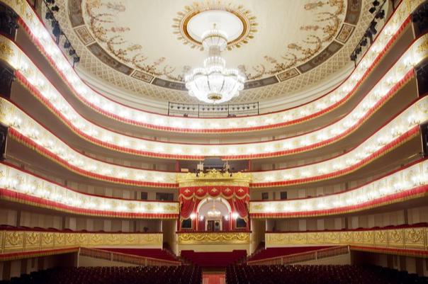 Александринский театр внутри