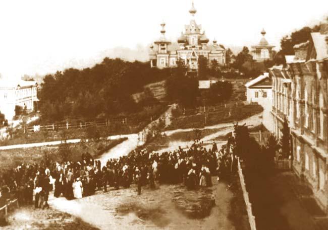 Вид обители в 1910 году
