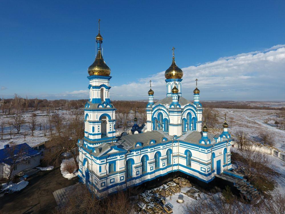 Храм святителя Николая Чудотворца в Кугульте