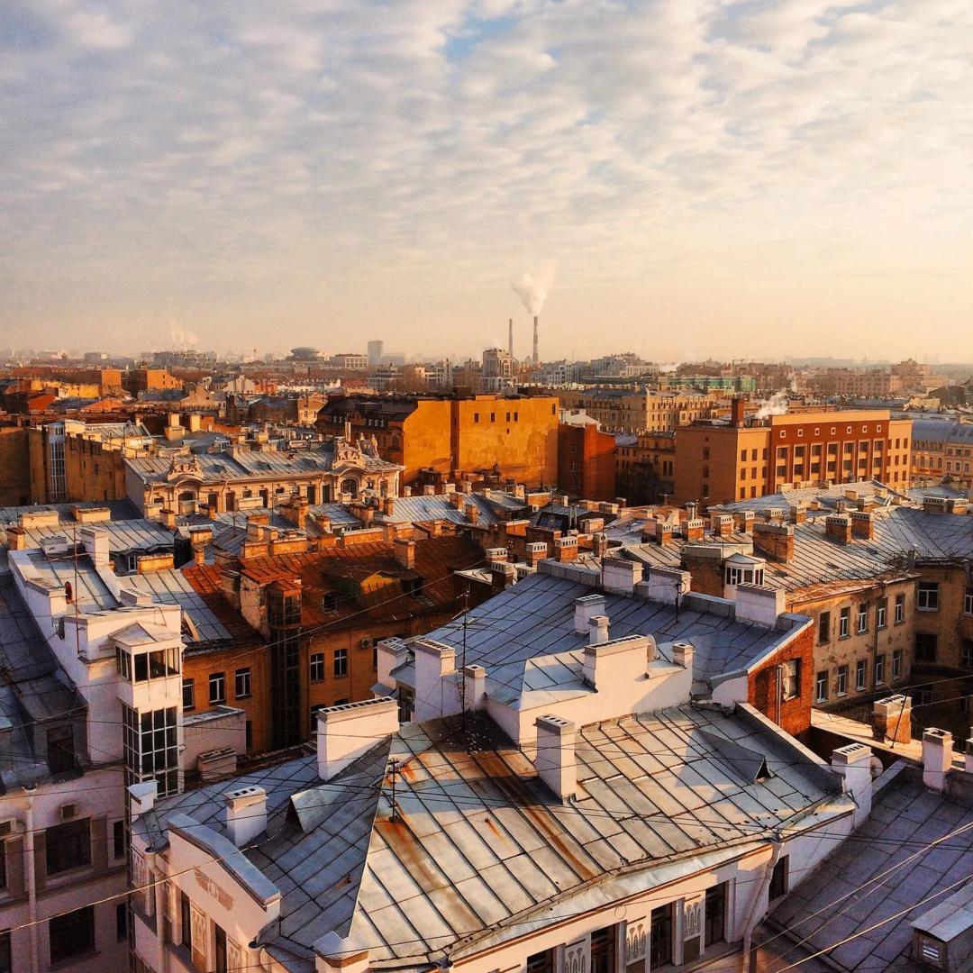 Крыши Санкт-Петербург
