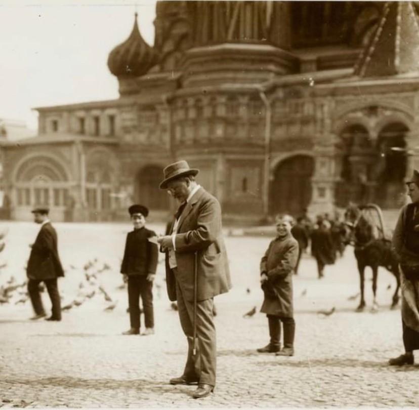 Москва на фотографиях знаменитого чешского художника Альфонса Мухи.