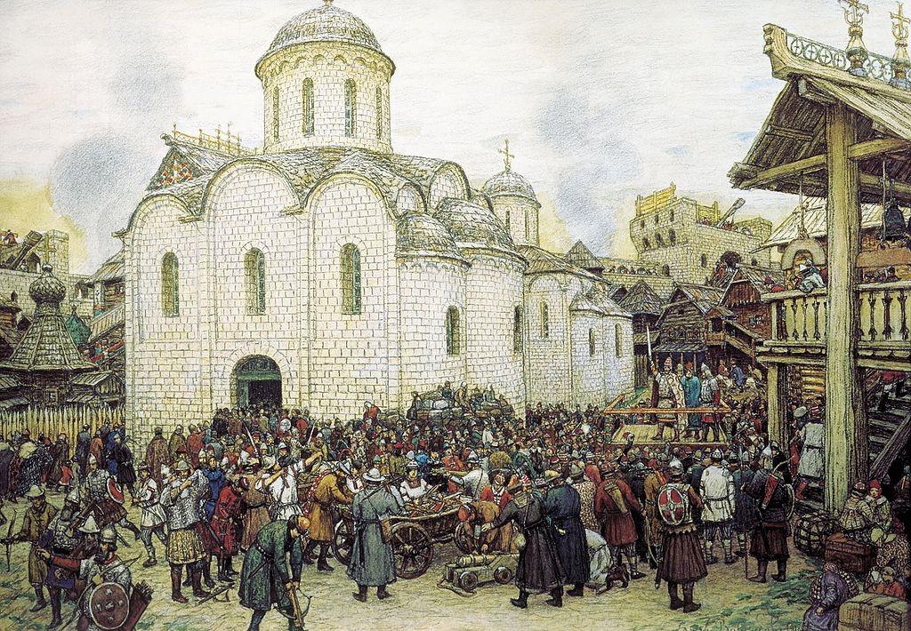 Могила художника Аполлинария Михайловича Васнецова