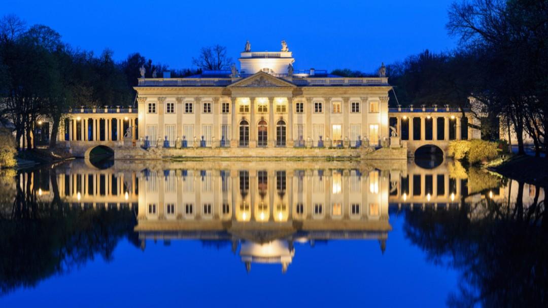 Лазенковский дворец (Варшава) и Николай I