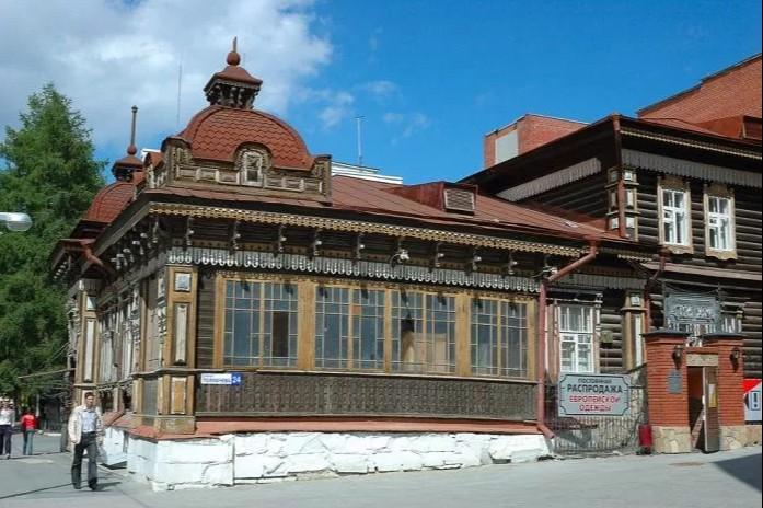 Дом дворянки Е.О.Селивановой