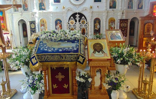 Церковь в честь святых мучеников и бессребреников Космы и Дамиана Римских