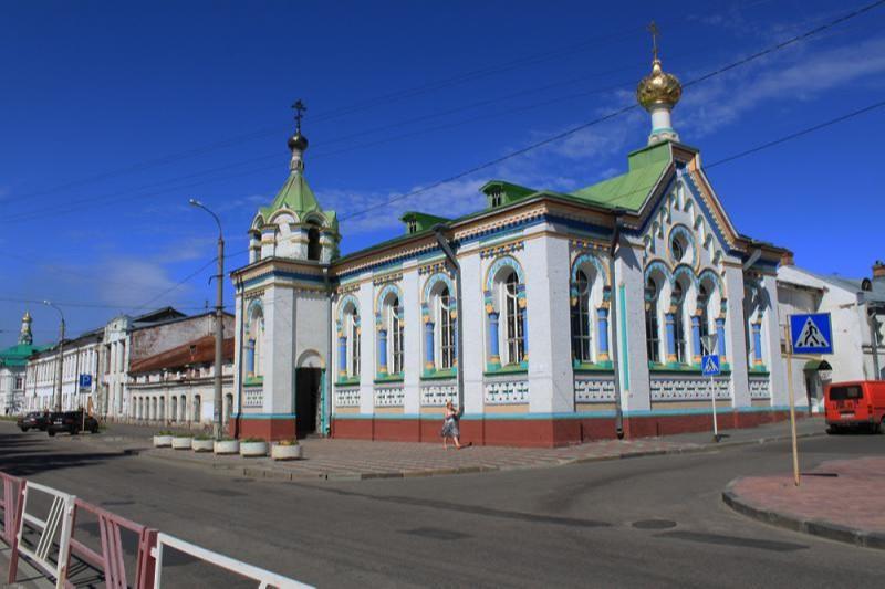 Храм Святителя Николая Чудотворца на Юрьевом взвозе