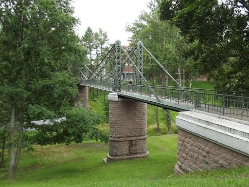Макаровский мост в Кронштадте