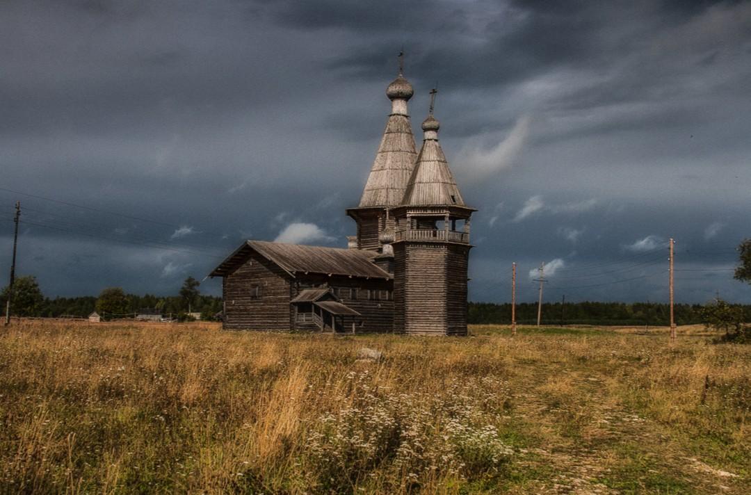 Храм святителя Иоанна Златоуста в Саунино
