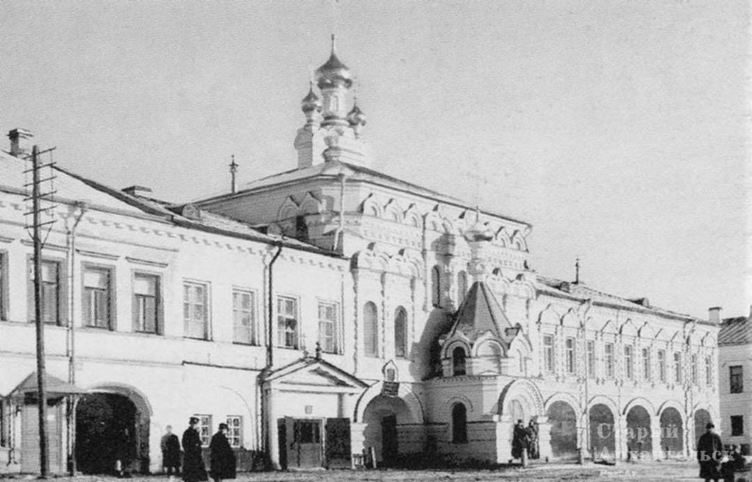 Храм преподобных Зосимы и Савватия Соловецких на Соловецком подворье