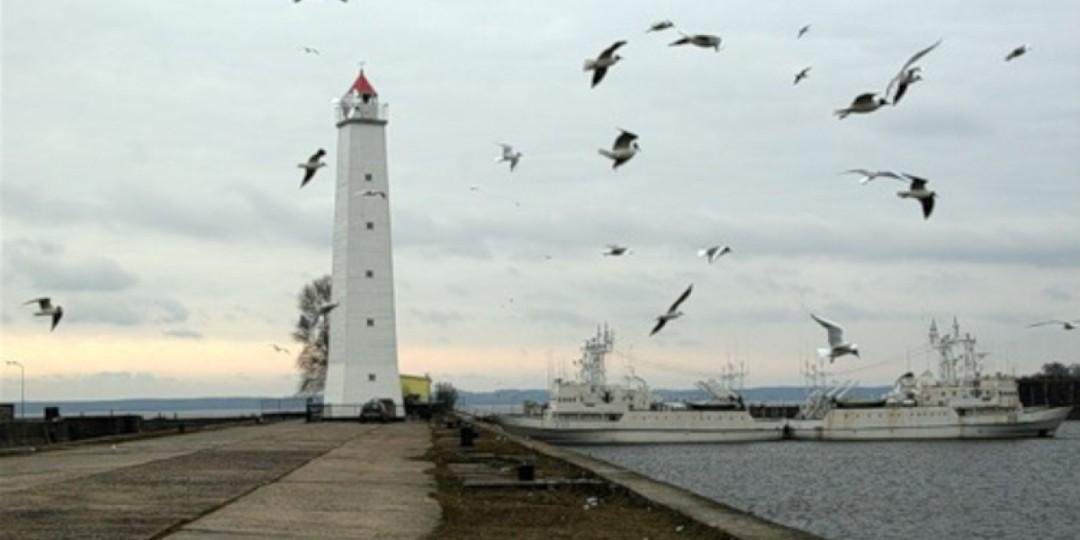 Деревянный маяк Кронштадта