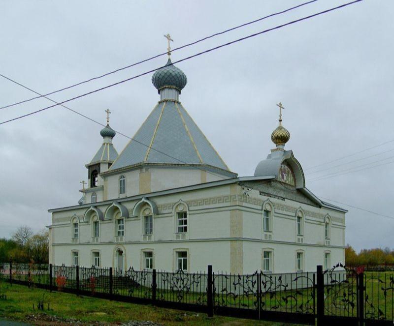Храм блаженной Ксении Петербургской в Маймаксанском округе