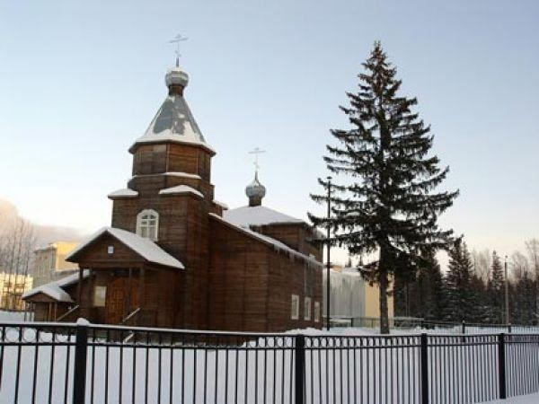 Храм Архангела Михаила в Мирном