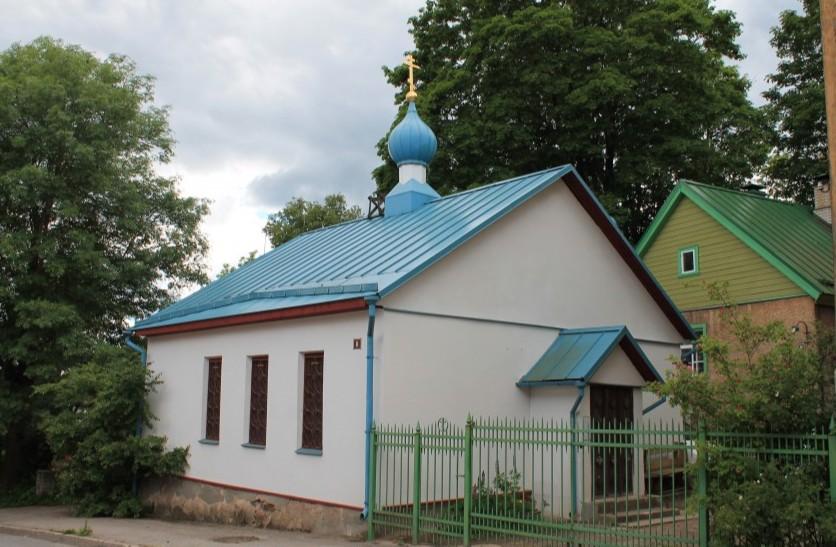 Православный храм Иоанна Предтечи в Вильянди