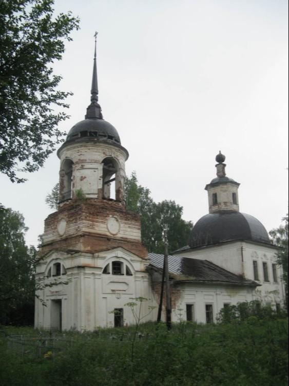 Храм Вознесения Господня в Возгрецовской