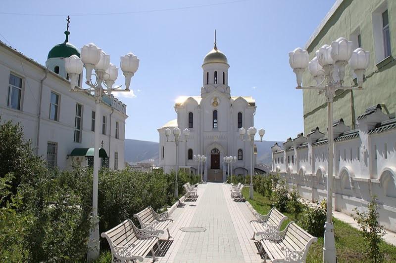 Троицкая церковь в Улан-Батор