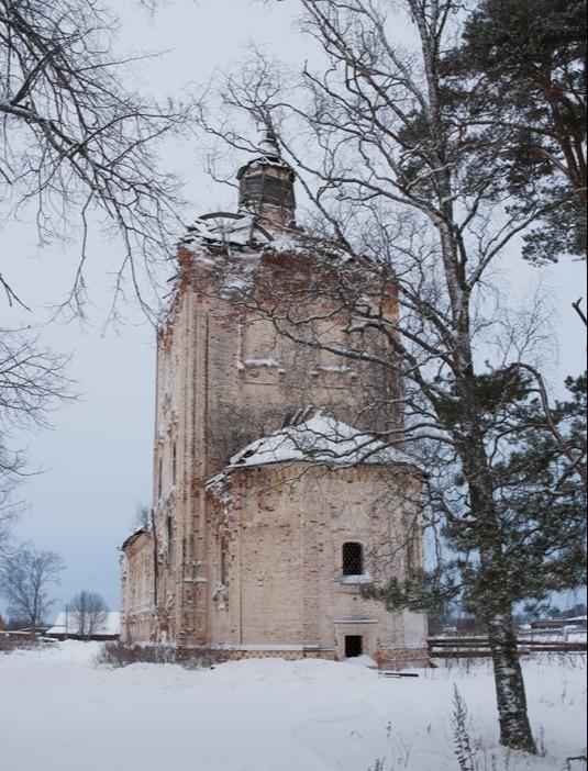 Храм Владимирской иконы Божией Матери в Заручевской